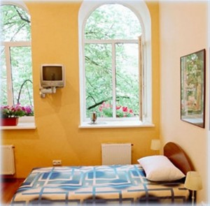 Double/Twin room with private bathroom - B&B Florens Vilnius