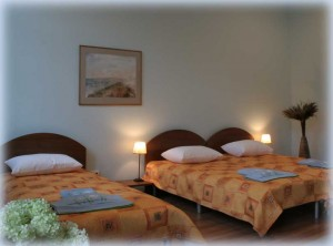 Quadruple room with private bathroom - B&B Florens in Vilnius Old Town